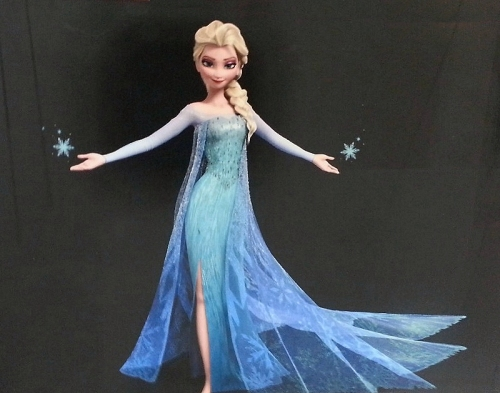 Queen Elsa, out of the closet!